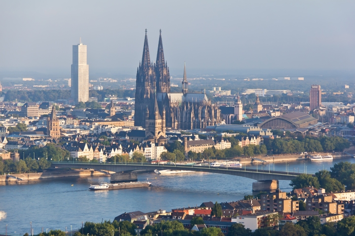 cologne on the rhein river, dom