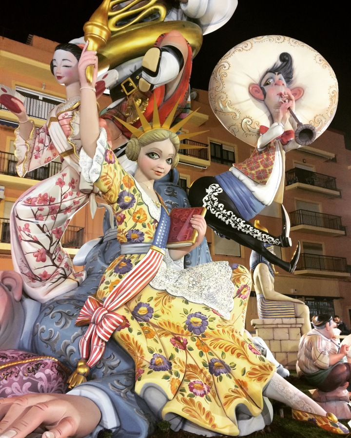 lass fallas denia spain