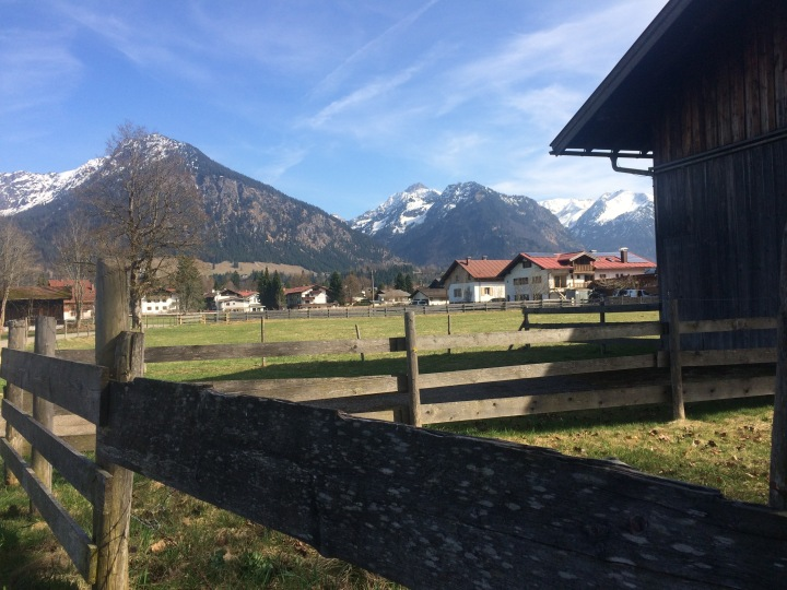 bavarian alps oberstdorf