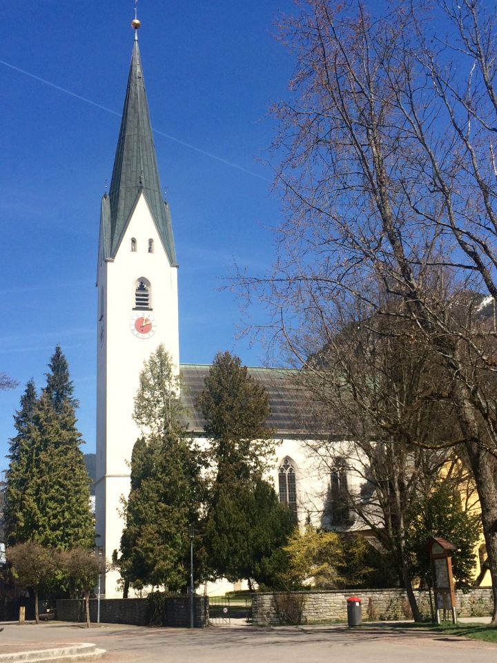 oberstdorf city center church