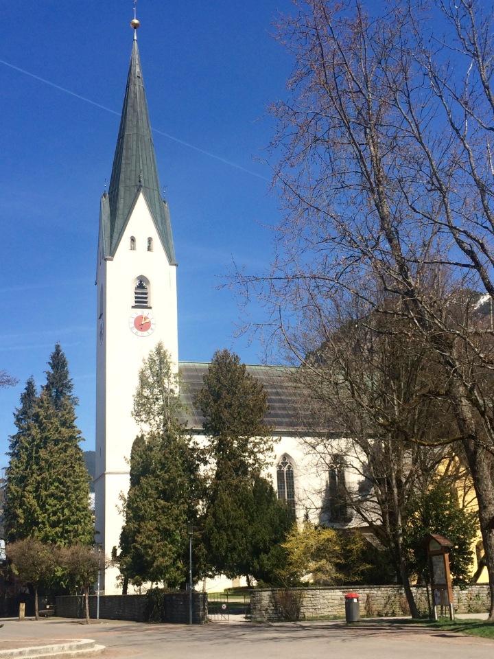 oberstdorf city center church