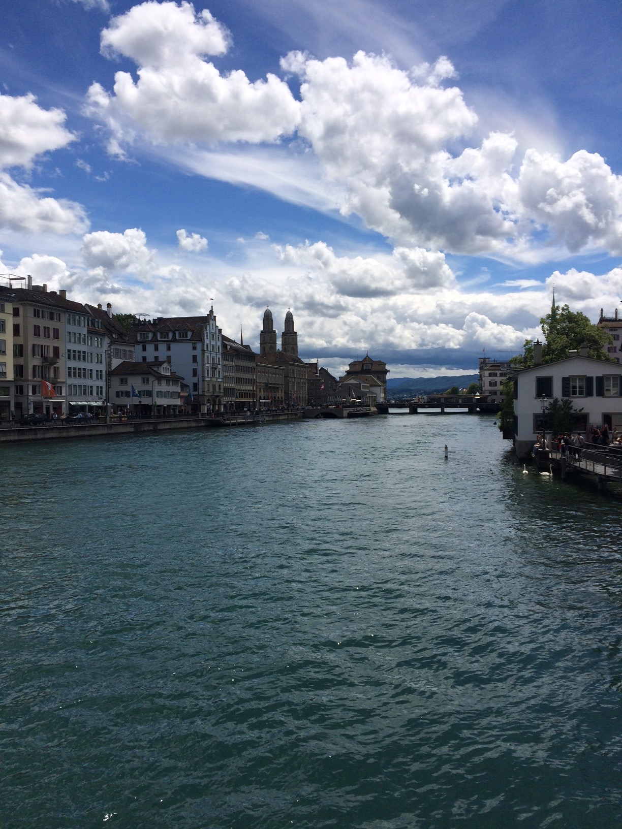Zürich city center Switzerland
