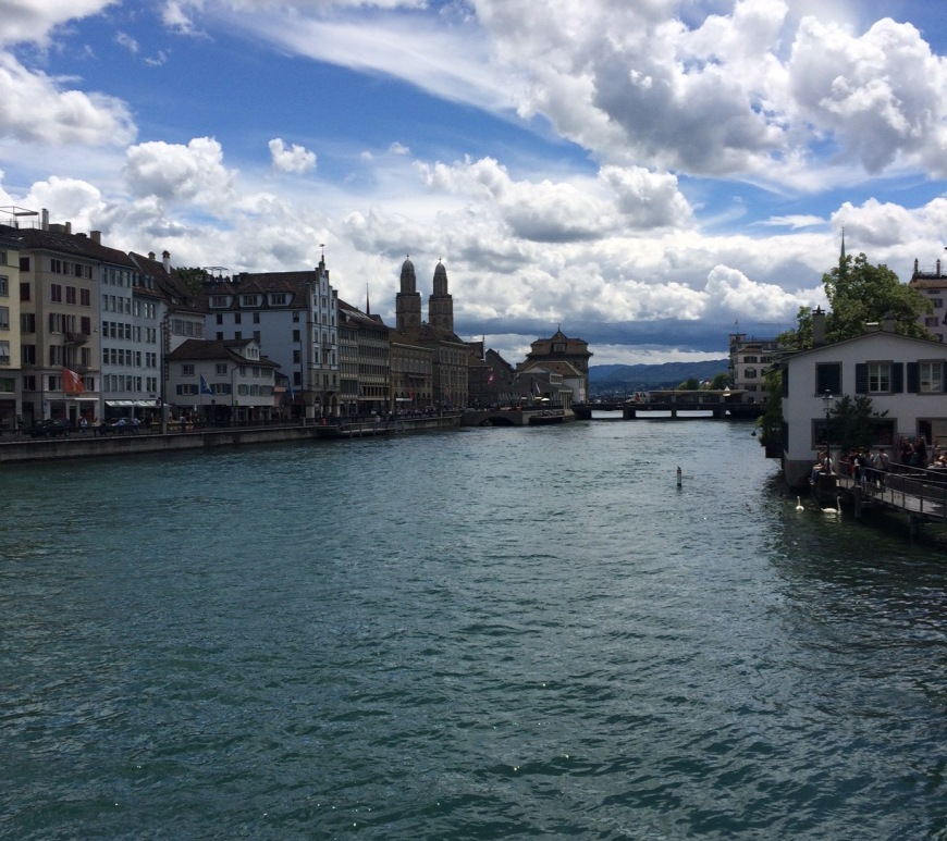 Zürich city center Switzerland