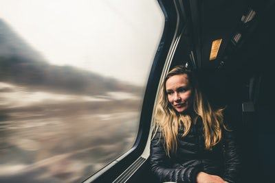 workaway-volunteer-exchange-woman-on-train